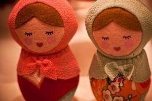 Cute Felt Dolls